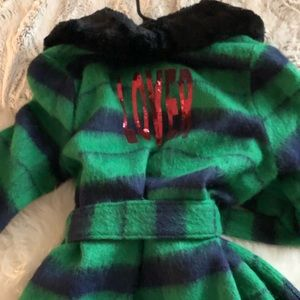 LOVERS & DRIFTERS Jackets & Coats - LOVERS GORGEOUS GREEN BLUE Duster  COAT